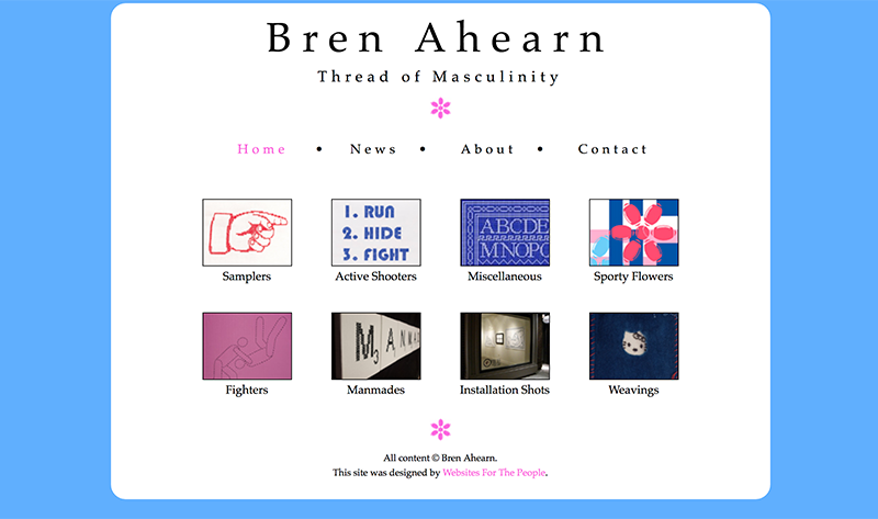 Bren Ahearn home page