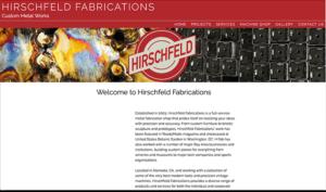 Hirschfeld Fabrications home page