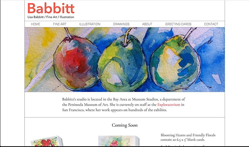 Lisa Babbitt home page