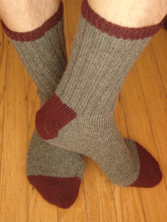 Basic Toe-Up Socks