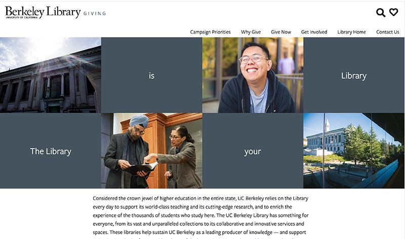 UC Berkeley Library Giving